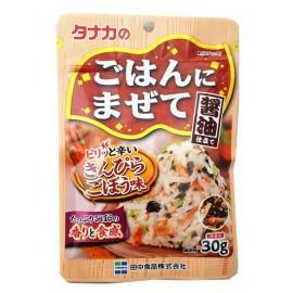 日本热销田中食品 辣味牛蒡拌饭调味料 30G