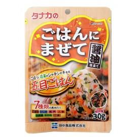 日本热销田中食品 五目拌饭调味料 30G