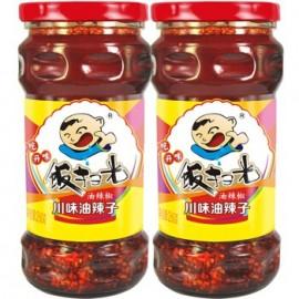 饭扫光川味油辣子 油辣椒260G