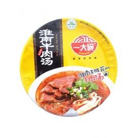 一大碗淮南牛肉汤香辣味(碗装)135G