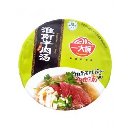 一大碗淮南牛肉汤原味(碗装)135G