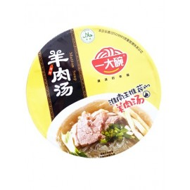 一大碗淮南羊肉汤原味(碗装)135G