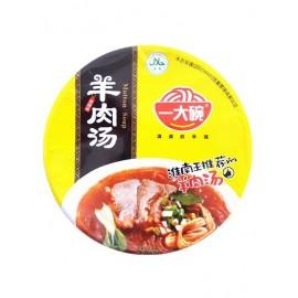 一大碗羊肉汤香辣味(碗装)135G
