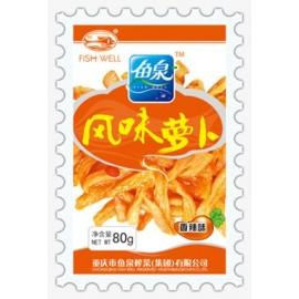 鱼泉风味萝卜-香辣味80g