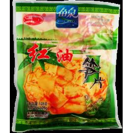 (卖光啦)鱼泉红油笋片 128G