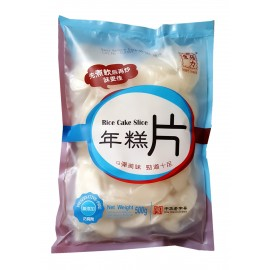 中华老字号张力生年糕片 500G