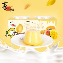 喜之郎芒果味布甸果冻+芒果果酱 2杯装 240G