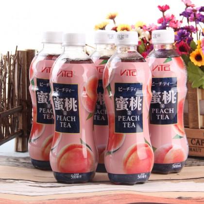维他VITA 蜜桃茶 500ML