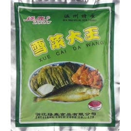 (卖光啦)绿鹿 雪菜大王150G