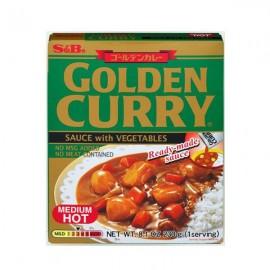 日本S&B金牌日式咖喱-带蔬菜中辣 230G