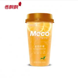 香飘飘 MECO 蜜谷 果汁茶 金桔柠檬味 400ML