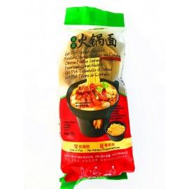 秋实 菠菜火锅面300G