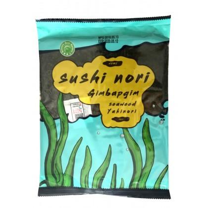 日本原产NORI寿司专用紫菜 10枚入 23G
