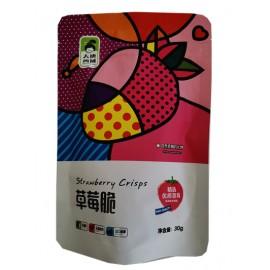 大唐西域草莓脆 30G
