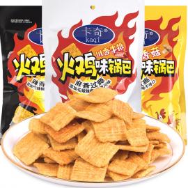 卡奇火鸡味锅巴 酷辣味 130G