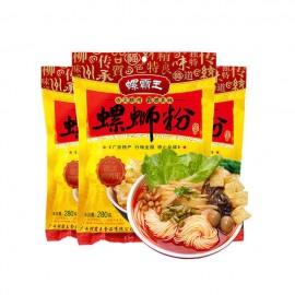 买十赠一 广西柳州特产螺霸王螺蛳粉 280G(共11袋)